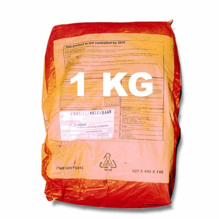 1 Kilogram Red Oxide for mixing into concrete or cement