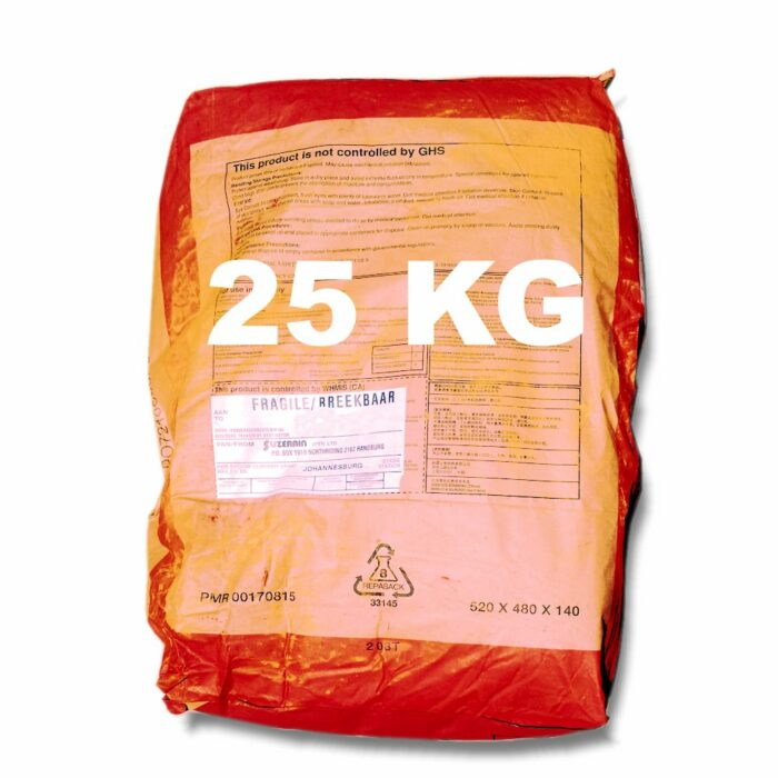 25 Kilogram Red Oxide for mixing into concrete or cement