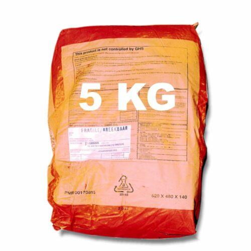 5 Kilogram Red Oxide for mixing into concrete or cement