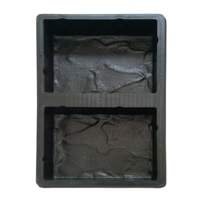 Mold for diy concrete casting Tuscan look paving bricks