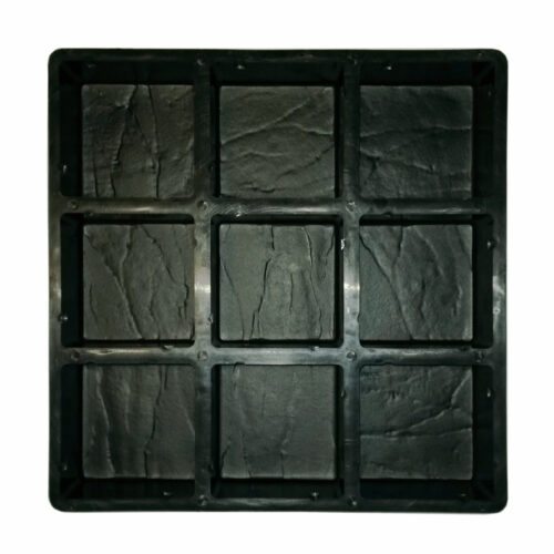 Mould for casting concrete cobblestone paver bricks
