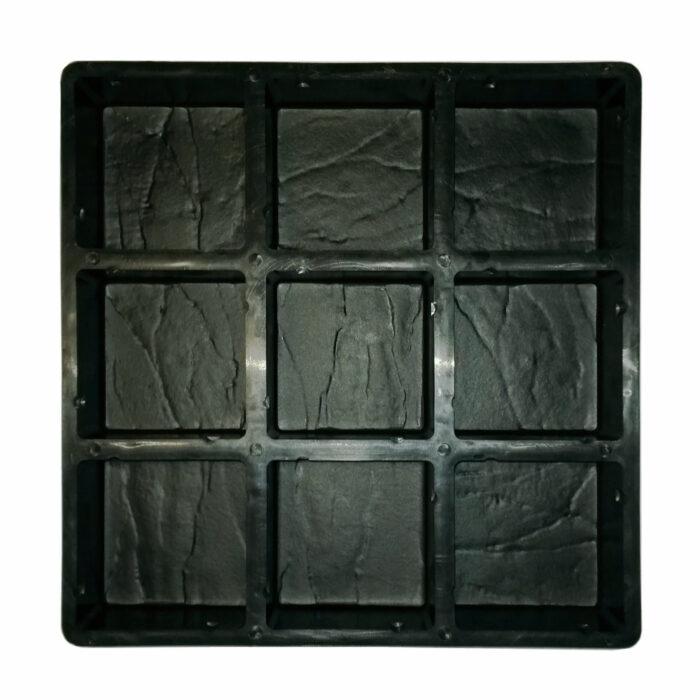 Mould for casting concrete cobblestone paver bricks