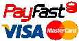 Payfast Mastercard Visa logo buy paver moulds onlines